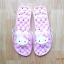 K020-PPK **พร้อมส่ง** (ปลีก+ส่ง) รองเท้านวดสปา เพื่อสุขภาพ ปุ่มใหญ่สลับเล็ก (การ์ตูน) สีชมพูอ่อน ส่งคู่ละ 150 บ. thumbnail 3