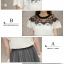 แฟชั่นเกาหลี set เสื้อและกระโปรง สวยน่ารักมากๆ thumbnail 9