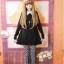 [พรีออเดอร์] เสื้อแขนยาวตุ๊กตาคอปกลายแมวน้อย สีดำ thumbnail 2