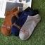 S617**พร้อมส่ง** (ปลีก+ส่ง) ถุงเท้าแฟชั่น เกาหลี ข้อสั้น คละ 5 สี 10 คู่ต่อแพ็ค เนื้อดี งานนำเข้า(Made in China) thumbnail 1