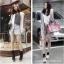 [พิเศษ 3 คู่ 120 ] ถุงเท้าสไตล์เกาหลี ข้อเท้าสีสดมากกว่า 12 สี thumbnail 7