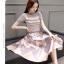 แฟชั่นเกาหลี set เสื้อ และกระโปรงสวยหรู thumbnail 8