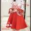 เสื้อผ้าแฟชั่นเกาหลี set 2 ชิ้น เสื้อและกระโปรงสวยมากๆ thumbnail 4