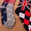 [เซต3คู่] ถุงเท้าลายธงชาติ ขนาดเท้าใส่ได้ทั้งชายและหญิง thumbnail 5