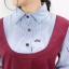 Adela เดรสทรงเอี้ยมผ้าพื้น ต่อผ้าลายริ้ว ดีไซน์น่ารัก Couple มี 2 สี thumbnail 7