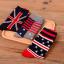 [เซต3คู่] ถุงเท้าลายธงชาติ ขนาดเท้าใส่ได้ทั้งชายและหญิง thumbnail 2
