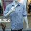 เสื้อเชิ้ตแขนยาวชาย ลายสก้อต ผ้า cotton100% thumbnail 6