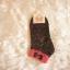 ถุงเท้าเกาหลีลายจุดขอบโบว์น้อยน่ารัก มี 4 สี [ขนาดเท้า35-38] thumbnail 5