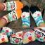 A009**พร้อมส่ง**(ปลีก+ส่ง) ถุงเท้าแฟชั่นเกาหลี ลายจมููก 3 มิติ มี 5 แบบ เนื้อดี งานนำเข้า( Made in Korea) thumbnail 1