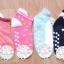 U040-6 **พร้อมส่ง** (ปลีก+ส่ง) ถุงเท้าเด็ก หญิง COCO & BU (ขนาด 17-19 cm.) มีกันลื่น และ มีหูด้านหลัง เนื้อดี งานนำเข้า ( Made in China) thumbnail 1