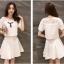 แฟชั่นเกาหลี set เสื้อและกระโปรงน่ารักมากๆ ครับ thumbnail 4