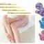 J01**พร้อมส่ง** (ปลีก 299 บ.+ส่ง 120 บ.) มือ นวด Massage Glove แบบพกพา สี ม่วง thumbnail 2