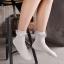 S401**พร้อมส่ง** (ปลีก+ส่ง) ถุงเท้าแฟชั่น ข้อยาว แต่งระบาย คละ5 สี เนื้อดี งานนำเข้า มี 10 คู่ต่อแพ็ค thumbnail 1