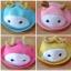 Y001-3**พร้อมส่ง** (ปลีก+ส่ง) หมวก สาน เด็ก ลายกวาง แฟชั่นเกาหหลี งานนำเข้า(Made in China) thumbnail 1