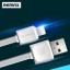 สายชาร์จ iPhone 5 REMAX FAST Data Cable RC-008i (สายแบน) แท้ ราคา 59 บาท ปกติ 160 บาท thumbnail 1