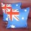 หมอนอิง ลายธงชาติอ Australia สวยๆ งามๆ ขนาด 18 x 18 นิ้ว ขายที่ละเป็นคู่ thumbnail 3