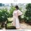 แฟชั่นเกาหลี ชุด set เสื้อ และกระโปรงสวยมากๆ ครับ เสื้อผ้าคอตตอนผสม spandex เนื้อนิ่ม thumbnail 4