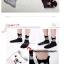 A041**พร้อมส่ง**(ปลีก+ส่ง) ถุงเท้าแฟชั่นเกาหลี ข้อสูง มีหู มี 5 แบบ เนื้อดี งานนำเข้า( Made in Korea) thumbnail 2