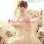 ชุดเดรส Brand Aimilan Princess style ชุดเดรสลูกไม้ แขนยาว คอปักมุกสีขาว พร้อมเข็มกลัดรูปผู้หญิงติดที่คอเสื้อ สวยมากๆครับ (พร้อมส่ง) thumbnail 7