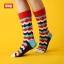 S423**พร้อมส่ง** (ปลีก+ส่ง) ถุงเท้าแฟชั่นเกาหลี ข้อยาว คละ 3 สี มี 12 คู่ต่อแพ็ค เนื้อดี งานนำเข้า thumbnail 1