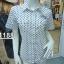 ( H 1188 ) เสื้อเชิ้ตหญิงแขนสั้น thumbnail 1