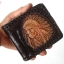 กระเป๋าสตางค์แบบ 2 พับ หนังวัวแท้ thumbnail 2