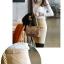 เสื้อลูกไม้ แฟชั่นเกาหลี ชนิดเนื้อนิ่ม สีขาว แขนยาว คอเต่า แต่งคอเสื้อด้วยคริสตรัลใส thumbnail 7