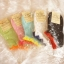 ถุงเท้าเกาหลีลายจุดเล่นขอบน่ารัก มี 5 สี [ขนาดเท้า35-38] thumbnail 1