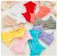 บรา3สาย 3-stripe bras บราสายไขว้ สไตล์สปอร์ตบราขนาดฟรีไซต์ 32/34/36 Candy Color thumbnail 1
