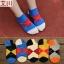 S217**พร้อมส่ง** (ปลีก+ส่ง) ถุงเท้าแฟชั่นเกาหลี ข้อสั้น เนื้อดี งานนำเข้า(Made in China) thumbnail 2