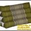 หมอนอิง หมอนสามเหลี่ยม 10 ช่อง หมอนขิด สีเขียวตอง ลายดอกพิกุล สินค้ามาตรฐานโอทอปเมืองไทย ส่งออกต่างประเทศ ราคาถูกครับ thumbnail 1