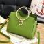 พร้อมส่ง ขายส่ง กระเป๋าผู้หญิงถือห่วงกลม ขนาดเล็ก แฟชั่นสไตล์เกาหลี รหัส KO-274 สีเขียว 1 ใบ thumbnail 1