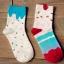 S464**พร้อมส่ง** (ปลีก+ส่ง) ถุงเท้าแฟชั่นเกาหลี ข้อยาว เนื้อดี งานนำเข้า(Made in china) thumbnail 1