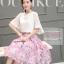 แฟชั่นเกาหลีสวยๆ set เสื้อ และกระโปรงสวยหวานครับ thumbnail 2