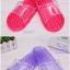 K021 **พร้อมส่ง** (ปลีก+ส่ง) รองเท้านวดสปา เพื่อสุขภาพ ปุ่มเล็ก(ใส)แบบนิ่ม มี 6 สี thumbnail 3