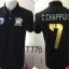 เสื้อโปโล ทีมชาติไทย ลาย เทพบุตร AEC สีดำ T77B thumbnail 1