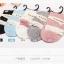 S340 **พร้อมส่ง** (ปลีก+ส่ง) ถุงเท้าแฟชั่นเกาหลี ข้อยาว คละ 5 สี มี 10 คู่/แพ็ค เนื้อดี งานนำเข้า(Made in China) thumbnail 3