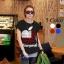 เสื้อแฟชั่น ผ้า spandex (ITY) รหัส DD32 (แขนเบิ้ล) สีดำ thumbnail 1
