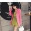 ชุดเดรสแฟชั่น ผ้าโพลีเอสเตอร์ สีเขียว (เนื้อผ้าคล้ายชีฟอง แต่หนากว่าชีฟอง) thumbnail 10