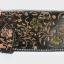กระเป๋าสตางค์ยาว หนังวัวแท้ ลายดอกไม้ สวยงาม เป็นกระเป๋าสตางค์แบบ 2 พับ พร้อมโซ่ thumbnail 2