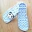 K020-ฺSBL2**พร้อมส่ง** (ปลีก+ส่ง) รองเท้านวดสปา เพื่อสุขภาพ ปุ่มใหญ่สลับเล็ก (การ์ตูน) สีฟ้าลายหมีแพนด้า ส่งคู่ละ 150 บ. thumbnail 4