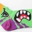 A052**พร้อมส่ง**(ปลีก+ส่ง) ถุงเท้าแฟชั่นเกาหลี ข้อสูง มี 4 แบบ เนื้อดี งานนำเข้า( Made in Korea) thumbnail 7