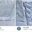 ชุดราตรี ออกงานสุดหรู สีเทา ตัวเสื้อผ้าโปร่งแต่งด้วยดิ้นเล็กๆ สีเงิน thumbnail 7