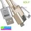สายชาร์จ Micro USB (สายถัก) Golf Alloy-braided Cable ลดเหลือ 85 บาท ปกติ 220 บาท thumbnail 1