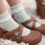 [พิเศษ 2 คู่ 100 ] ถุงเท้าระบายน่ารัก thumbnail 4