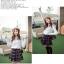 เสื้อไหมพรม ขนฟู สีขาว แขนยาว แฟชั่นเกาหลี คอเสื้อและไหล่แต่งด้วยผ้าลูกไม้ลายดอกไม้ thumbnail 10