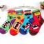 A052**พร้อมส่ง**(ปลีก+ส่ง) ถุงเท้าแฟชั่นเกาหลี ข้อสูง มี 4 แบบ เนื้อดี งานนำเข้า( Made in Korea) thumbnail 1