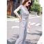 แฟชั่นเกาหลี set เสื้อ และกางเกงสวยหรู พร้อมสร้อยคอสีทองเก๋ๆ เหมือนแบบ thumbnail 4
