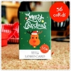 Christmas Lomo Card 1set 56 ใบ
