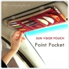 GMZ Point Pocket ver.2 ที่เก็บของใต้ที่บังแดดในรถ